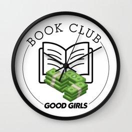 Book Club (Good Girls) Wall Clock