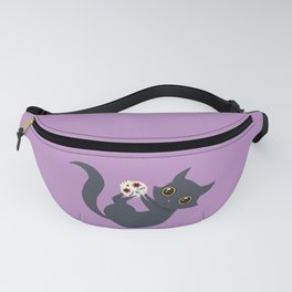 Kitty sugar skull Fanny Pack