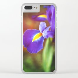 Spring Royalty Clear iPhone Case