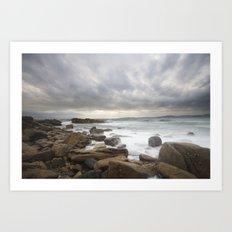 Elgol, Isle of Skye, Scotland. Art Print