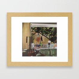 Fishbowl Vacation Framed Art Print