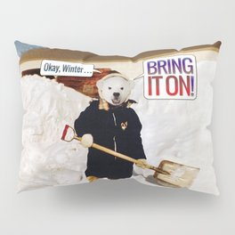 Okay, Winter . . . Bring it on! Pillow Sham
