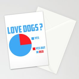 Love dogs? Stationery Cards