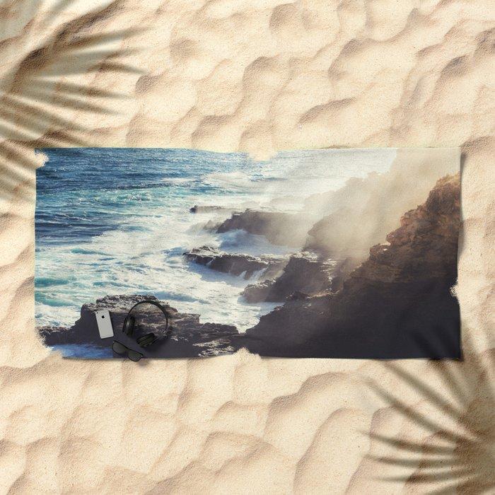 Ocean life Beach Towel