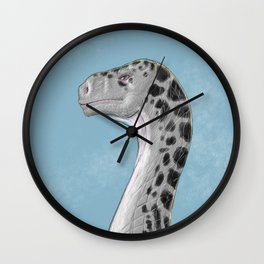 Sauropod Drawing Wall Clock
