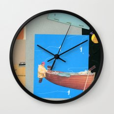 Aquatic Huntsman Wall Clock
