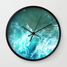 Caribbean Waves Wall Clock