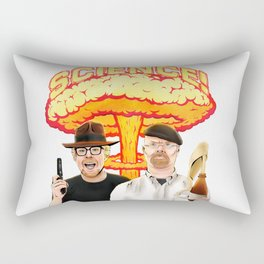 Mythbusters, for science! Rectangular Pillow