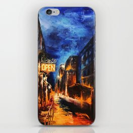"""Leaving New York"" Painting iPhone Skin"