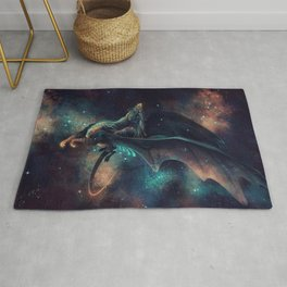 Galaxy Dragon Rug