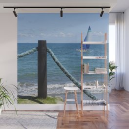Idylic sea scape Wall Mural