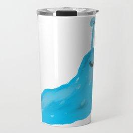 Blue Slug Travel Mug