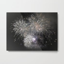July 4th fireworks Metal Print
