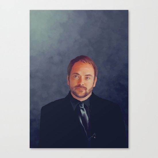 Crowley - Supernatural Canvas Print