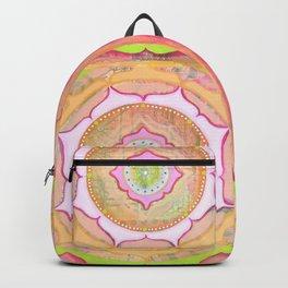 Pink Lotus Mandala Backpack