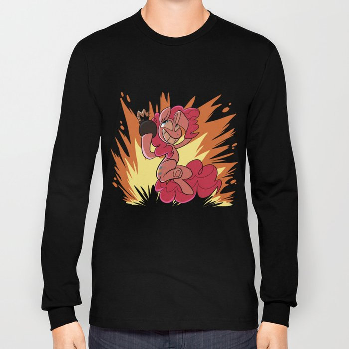 Explosion Pie Long Sleeve T-shirt