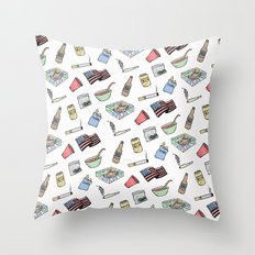 Party Essentials Throw Pillow