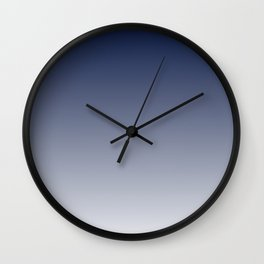 Ebb and Flow Ombré  Wall Clock