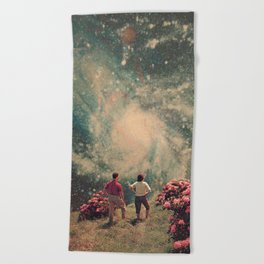 There will be Light in the End Beach Towel