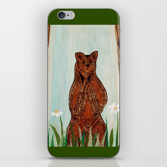 Standing Bear iPhone & iPod Skin