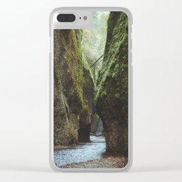 Oneonta Gorge Clear iPhone Case