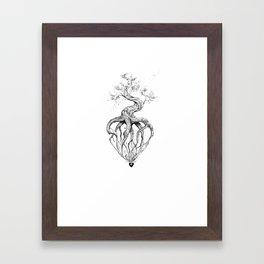 Heart Root Framed Art Print