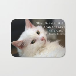 What greater gift than the Love of a Cat Bath Mat