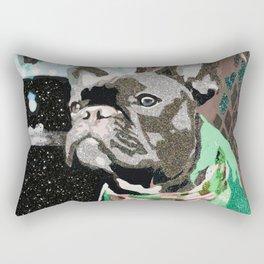 Biggie Green Rectangular Pillow