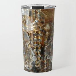 Crystals and Gold Travel Mug