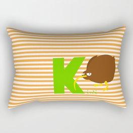 k for kiwi Rectangular Pillow