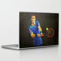 murray Laptop & iPad Skins featuring Murray Tennis by BixAri