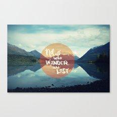 Wander II Canvas Print