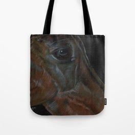 Hanoverian in Black Tote Bag