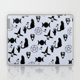 Creepy Cute Halloween Witch Design Laptop & iPad Skin