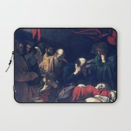 Caravaggio Death of the Virgin Laptop Sleeve