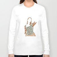 buffy the vampire slayer Long Sleeve T-shirts featuring Under your spell - buffy the vampire slayer by Rebecca McGoran