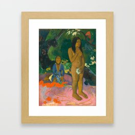Paul Gauguin, Words of the Devil, 1892 Framed Art Print