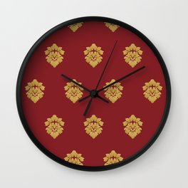 Free Marches (Red) Wall Clock