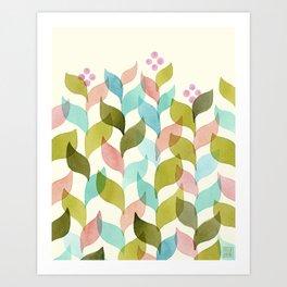 Climbing Vines Art Print