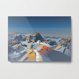Beautiful Mountains Metal Print