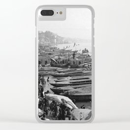 Varanasi The Ganges river Clear iPhone Case