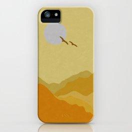 Shades of Desert iPhone Case