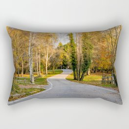 Strada del Monte Tomba Rectangular Pillow