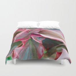 Tea Leaf Bloom Duvet Cover