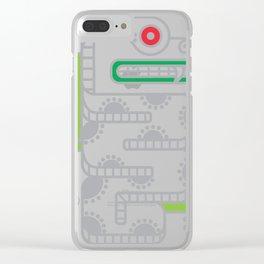 Koru-Fern Serpent Clear iPhone Case