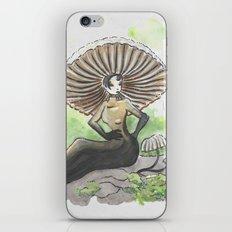 Empire of Mushrooms: Marasmius rotula iPhone & iPod Skin