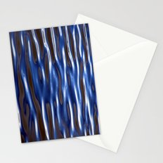 Blue Corrugated Water Stationery Cards