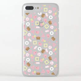 It's a Girl Clear iPhone Case