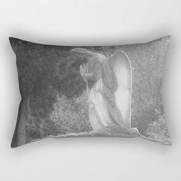 angel on the grave Rectangular Pillow