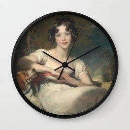 Sir Thomas Lawrence - Lady Maria. Wall Clock